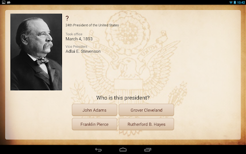 U.S. Presidents - screenshot thumbnail