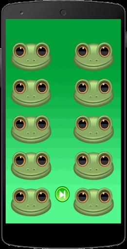 滑稽的青蛙的声音采集