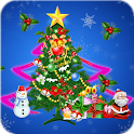 3D Christmas tree LWP icon