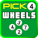 Lottery Wheel Generator Pick 4 icon