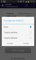 Screenshot of Edenred España
