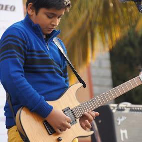 by Mallikarjun Nath - People Musicians & Entertainers
