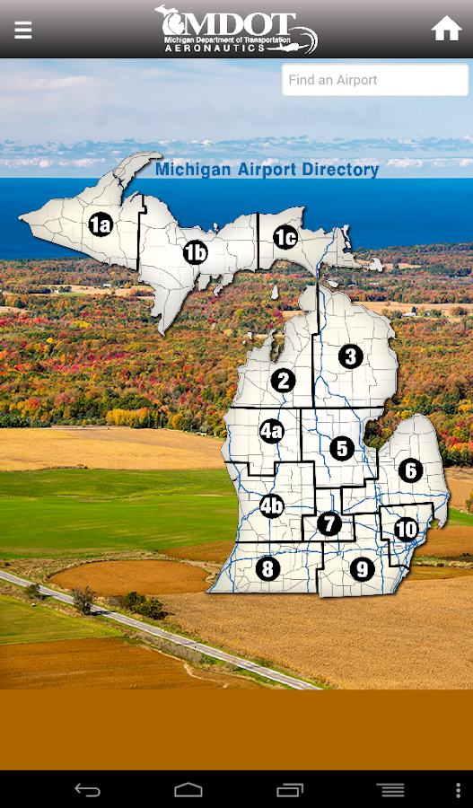 Mi Airports Directory Android Apps On Google Play - Michigan airports