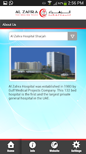Al Zahra Hospital App- screenshot thumbnail