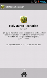 Holy Quran Recitation 3 screenshot 3