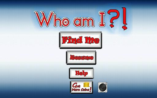 【免費解謎App】Who am I?!-APP點子