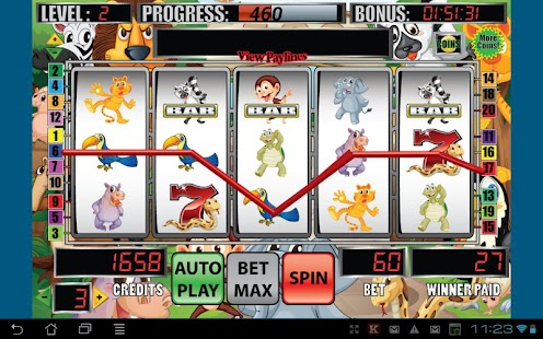 Mega Zoo Slot Machine - screenshot thumbnail