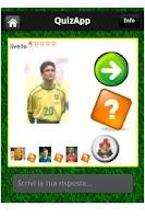 Screenshot of QuizApp stickers footballers