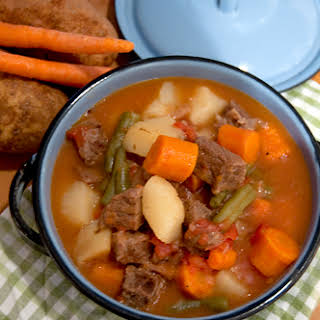 Beef Stew in the Pressure Cooker.