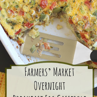 Farmers' Market Overnight Breakfast Egg Casserole