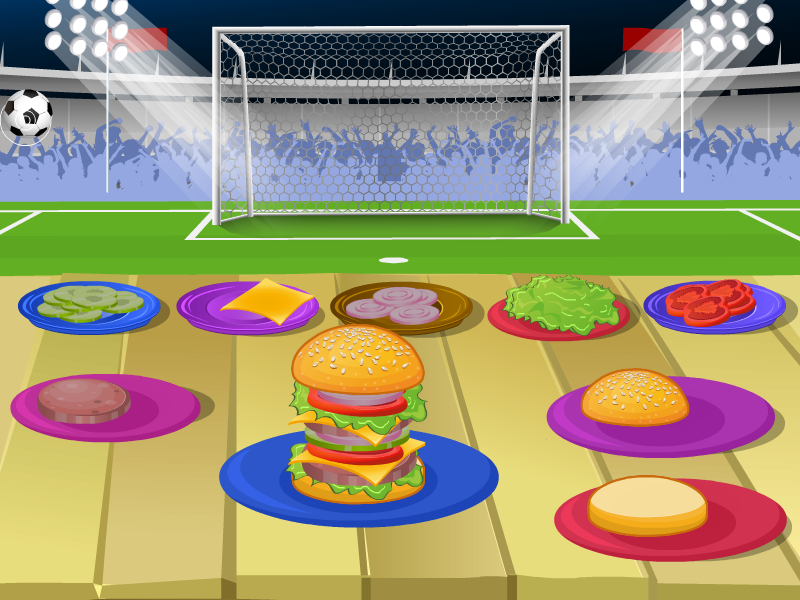 Delicious Burger Cooking Games- screenshot