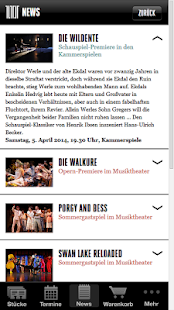 Theater App – Miniaturansicht des Screenshots