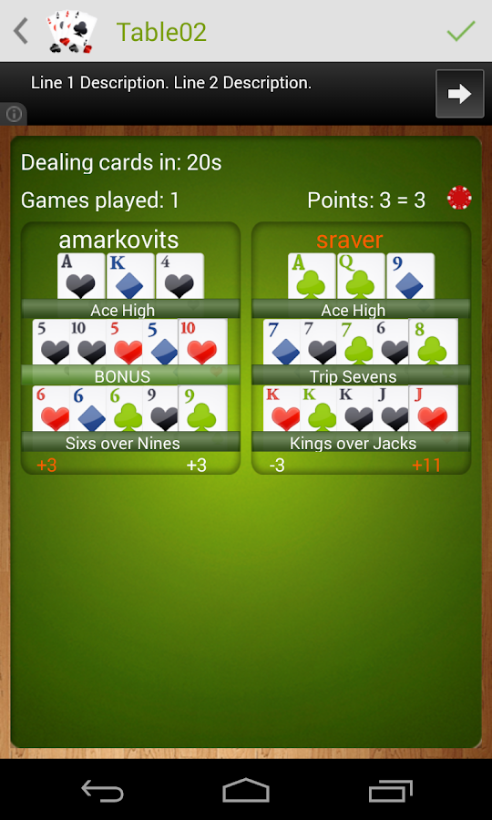 Online poker for android phones
