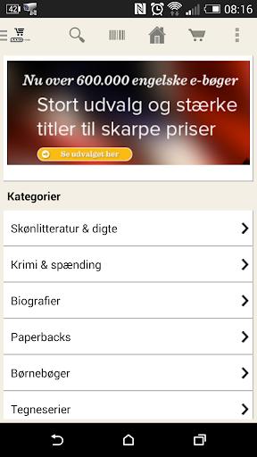 Saxo.com Søgning og Scannen