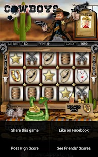 Cowboys Slot Machine HD - screenshot thumbnail