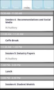 UMAP 2011- screenshot thumbnail