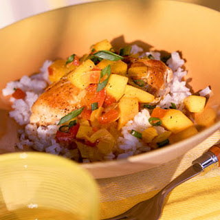 Chicken with Curried Mango Sauce