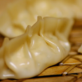 Veggie Steamed Dumplings.