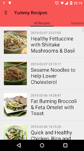 Yummy Recipes- screenshot thumbnail