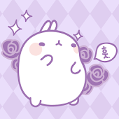 Molang Scent of Violet Atom