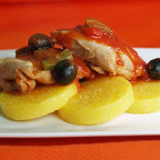 Chicken And Polenta.