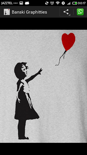 Banksy Graffiti for Wahtsapp