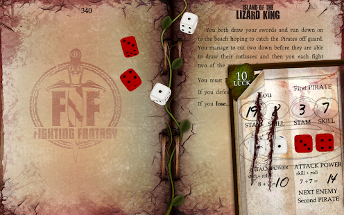 Island of the Lizard King- screenshot thumbnail