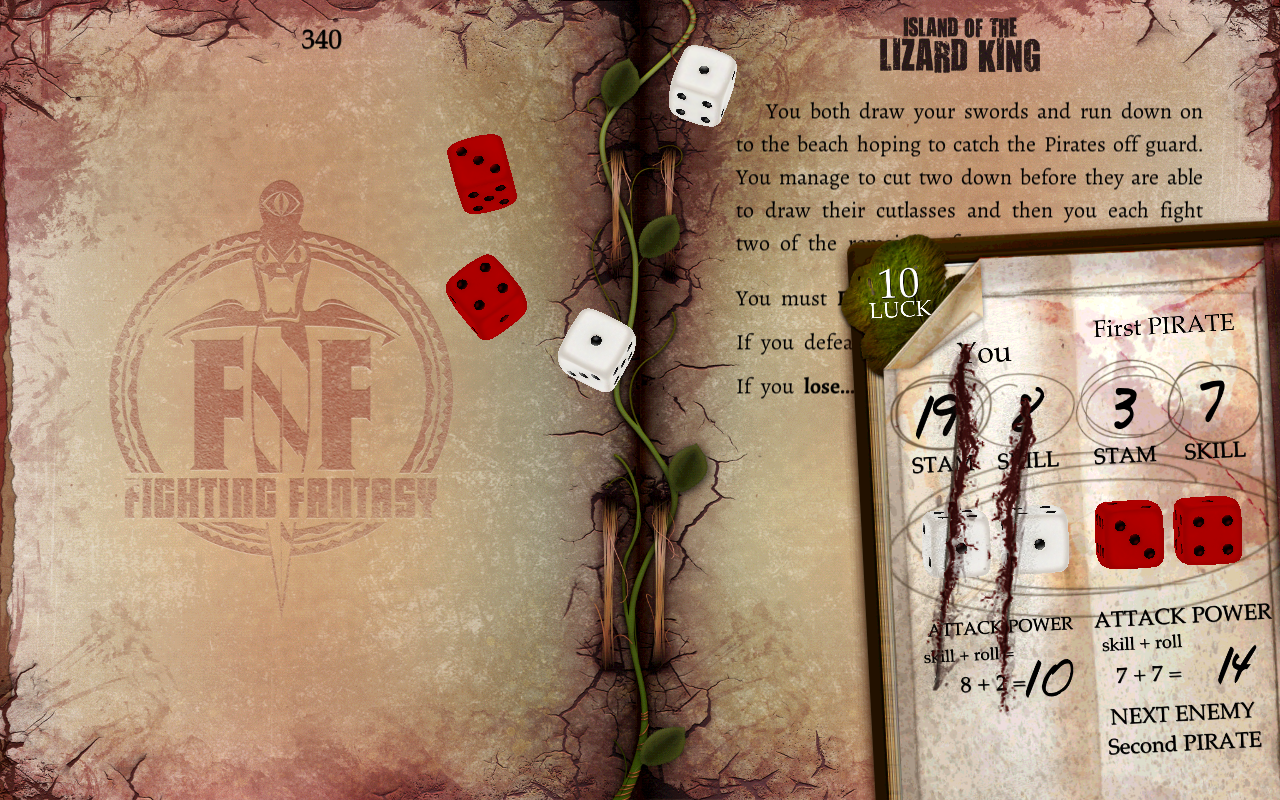 Island of the Lizard King- screenshot