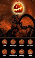 Screenshot of Halloween Style GO Launcher EX