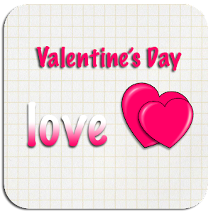 Valentine's day Go launcher
