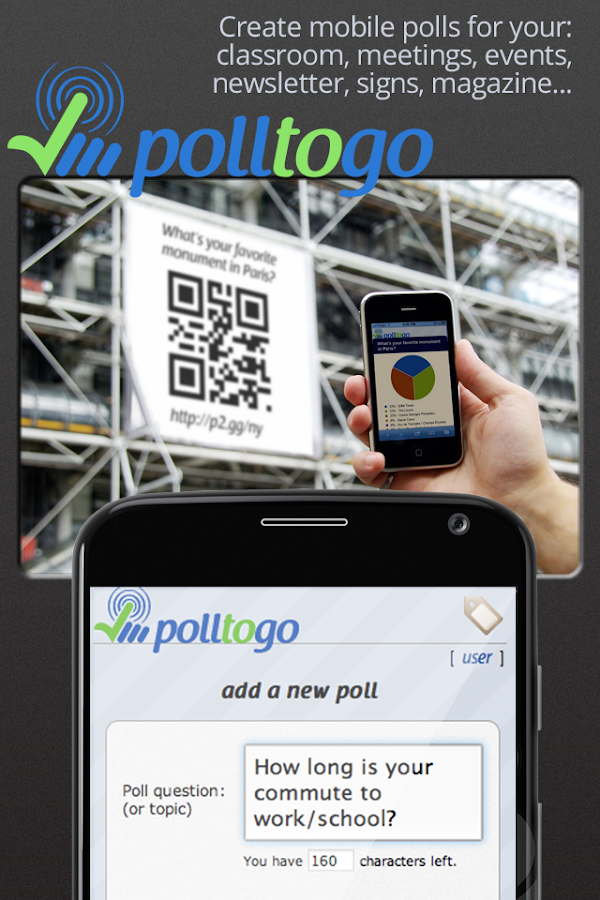 polltogo - Mobile poll maker- screenshot
