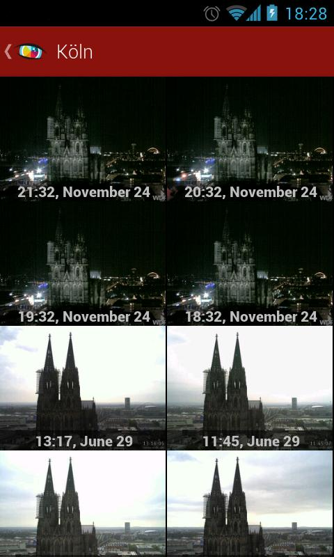Worldscope Webcams - screenshot
