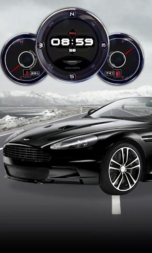 Aston Martin Volante Wallpaper