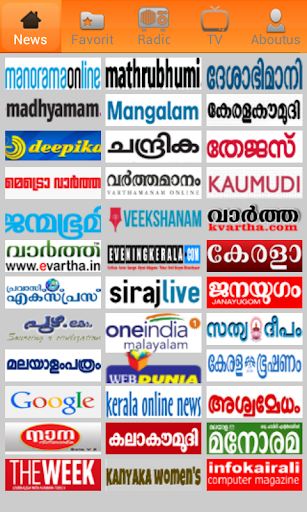 Malayalam Newspapers.