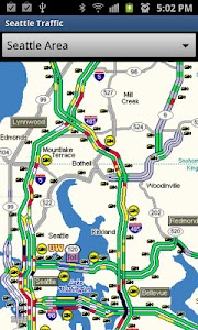Seattle Traffic screenshot 1