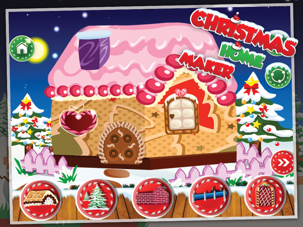 Christmas Home Maker- screenshot