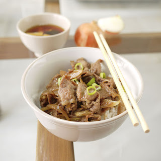 Gyudon – Japanese Beef Rice Bowl.