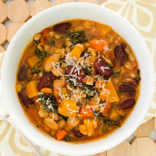 Autumn Minestrone Soup {GF}
