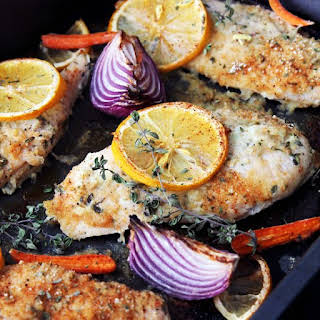 how to make baked chicken with bread crumbs