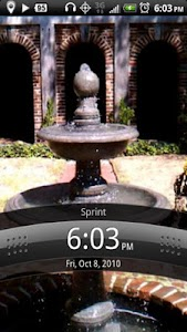 Fountain Live Wallpaper screenshot 1