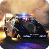 Police Car Speed Hot Pursuit