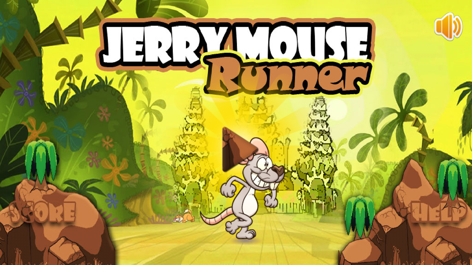 Jerry Mouse Running- screenshot