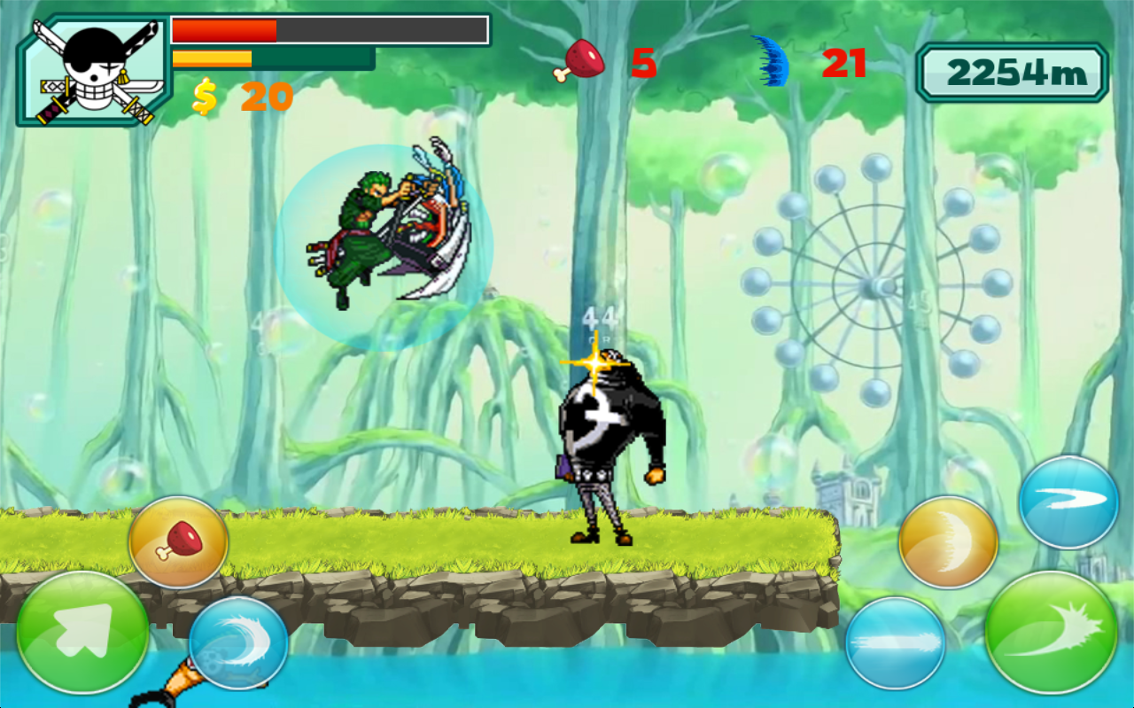 Zoro Pirate Shooting Free- screenshot