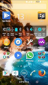 Theme Xperien Paradise screenshot 4