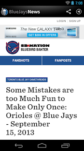 ZM: Blue Jays News - screenshot thumbnail