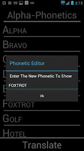 Alpha-Phonetics - screenshot thumbnail