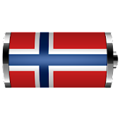 Norway - Flag Battery Widget