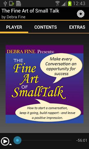 【免費書籍App】The Fine Art of Small Talk-APP點子