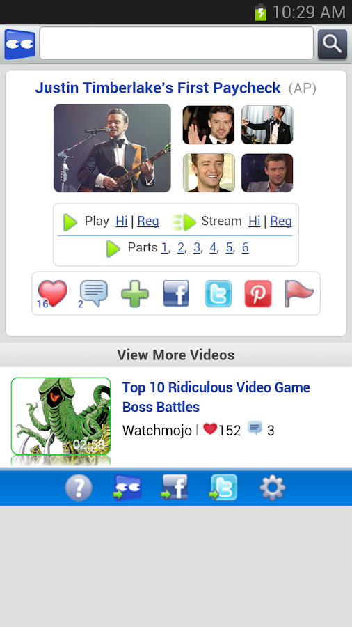 Access Vuclip Video - screenshot
