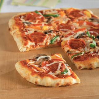 Easy Homemade Pizza.
